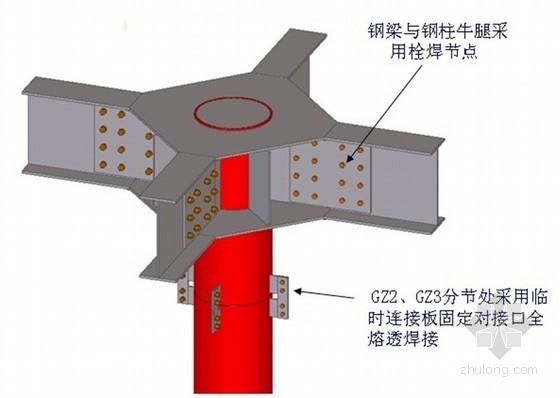 [天津]超高层塔楼钢栈桥专项施工方案(51页)