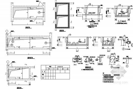 结构构造详图(自动扶梯及电梯相关大样)