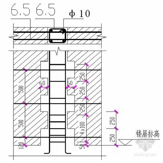 [重庆]展览中心砌筑施工工艺(加气混凝土砌块、页岩砖)