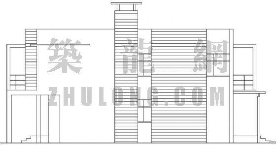 某特色别墅建筑施工图