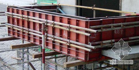 定型钢制阳台栏板模板(图片)