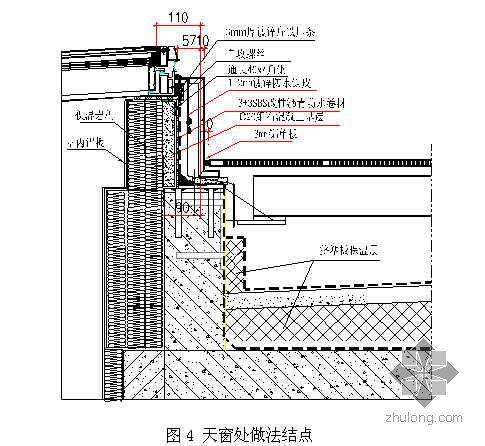 挤塑聚苯乙烯保温板节能金属屋面施工(实例)