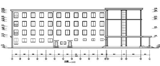 四层小型酒店建筑施工图-2