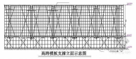 [重庆]酒店工程高支模施工方案(高13m 跨度33m)