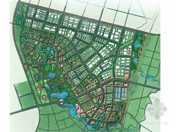 [眉山]城市新区控制性详细规划设计方案