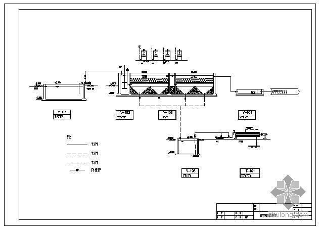 热镀锌废水处理工程工艺流程图