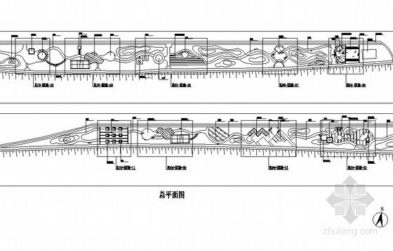 [唐山]带状公园园林景观设计施工图