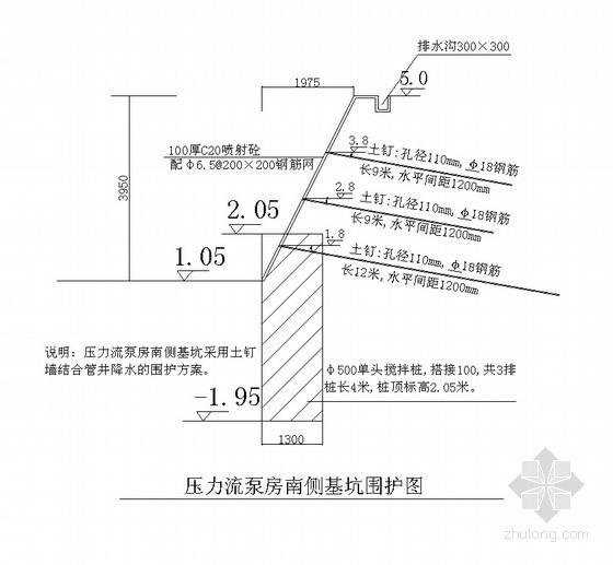 综合泵站工程施工组织设计(泵房、围墙、道路、井体等)