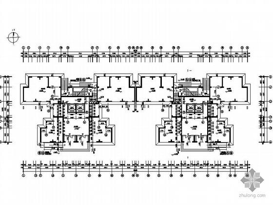 [武汉]某上城2号楼三十层塔式住宅楼建筑施工图(一梯四户)-