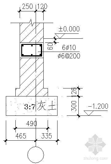 看台建筑结构详图-3