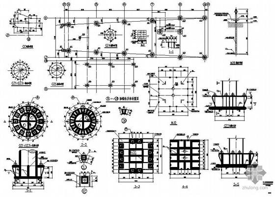 云南某博物馆钢结构图纸