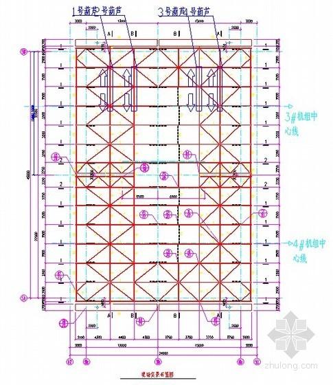 工业厂房超高工艺钢结构安装技术创新(76m)