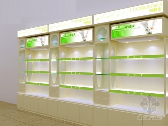 vr展资料下载-品牌化妆品展柜3D模型下载