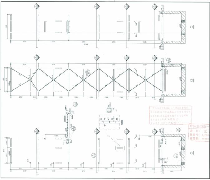 观光电梯玻璃幕墙、钢结构施工图及幕墙结构计算书_11