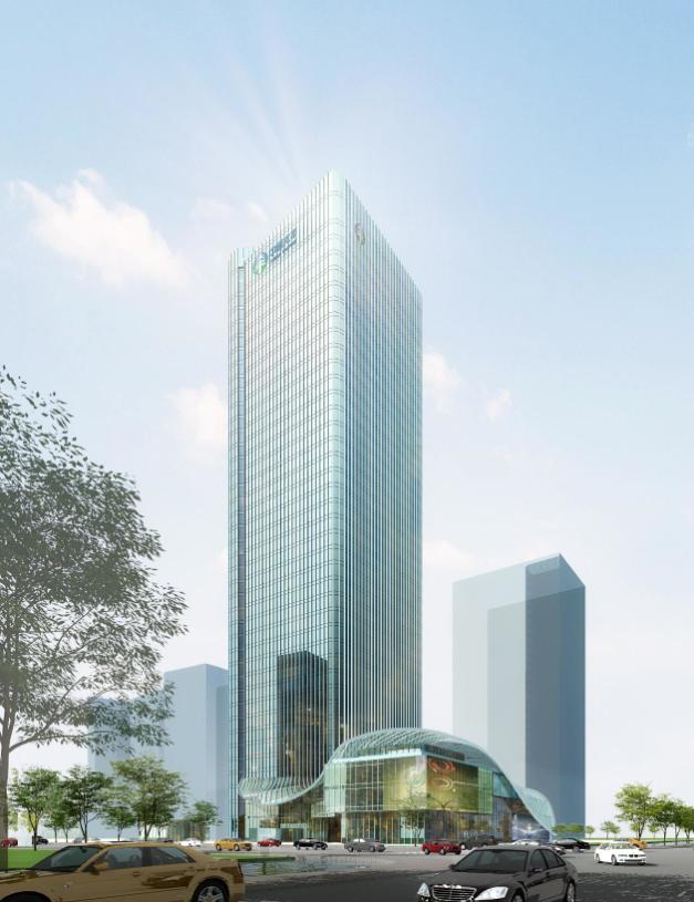[江苏]47层超高层工业园区办公楼招标施工图