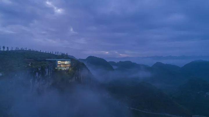 中国第一个百米崖壁上的美术馆!_21