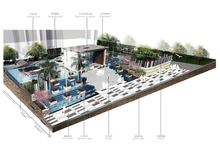 深圳奥斯汀景观设计作品赏析-前海港湾花园
