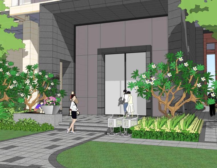[广东]佛山绿岛湖住宅景观设计方案文本(PDF+51页)
