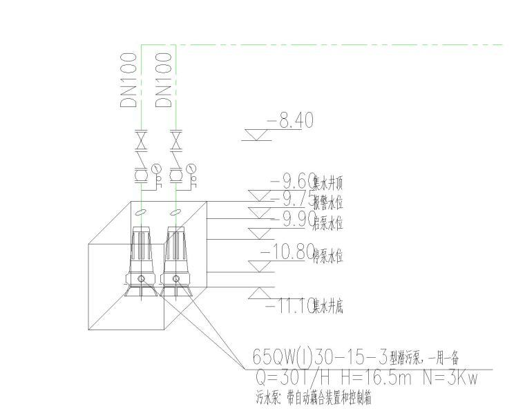 [上海]国际设计中心给排水系统图集_4