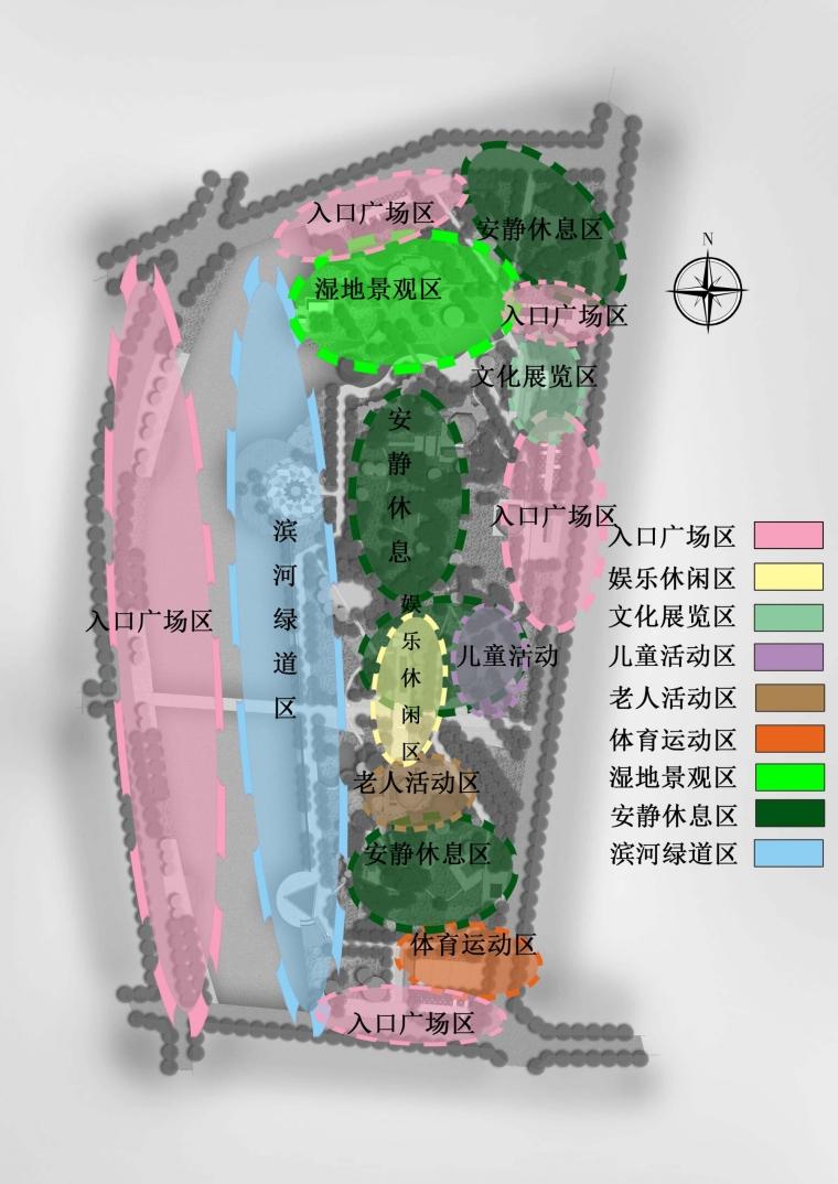 滨河公园景观设计_4