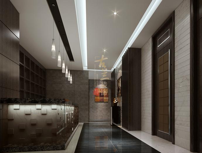 资阳茶楼修设计公司-《听涛闻香中式茶楼》-古兰装饰