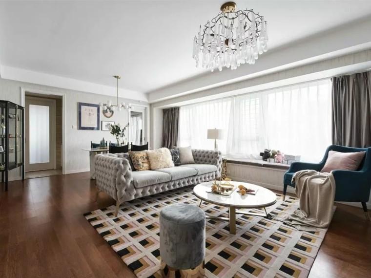 杭州美式轻奢风格的住宅