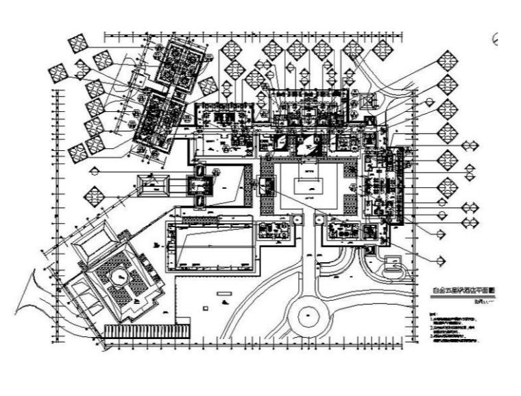 [广州]一套超完整的白金五星级酒店设计施工图(含效果图)