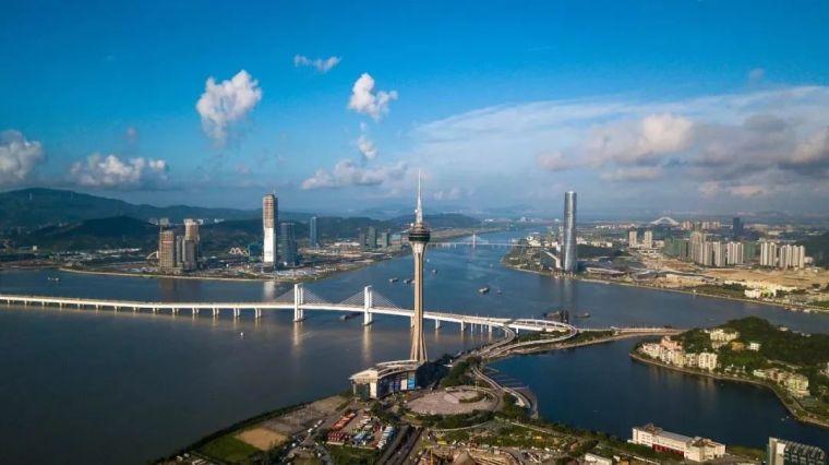 """中国南海边又画了一个""""大圈""""!盘点粤港澳大湾区建设的硬核工程"""