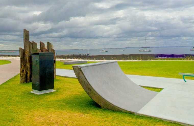 澳大利亚Esperance滑板公园-5