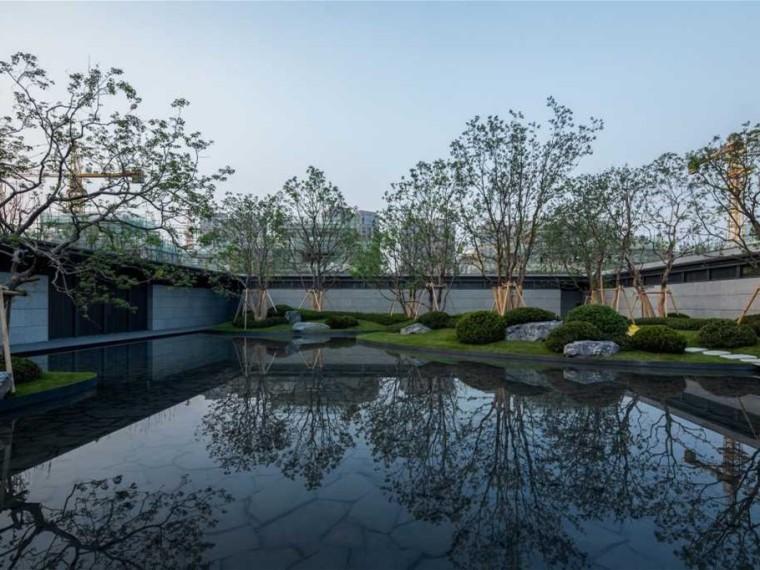 上海融创领馆壹号院示范区景观