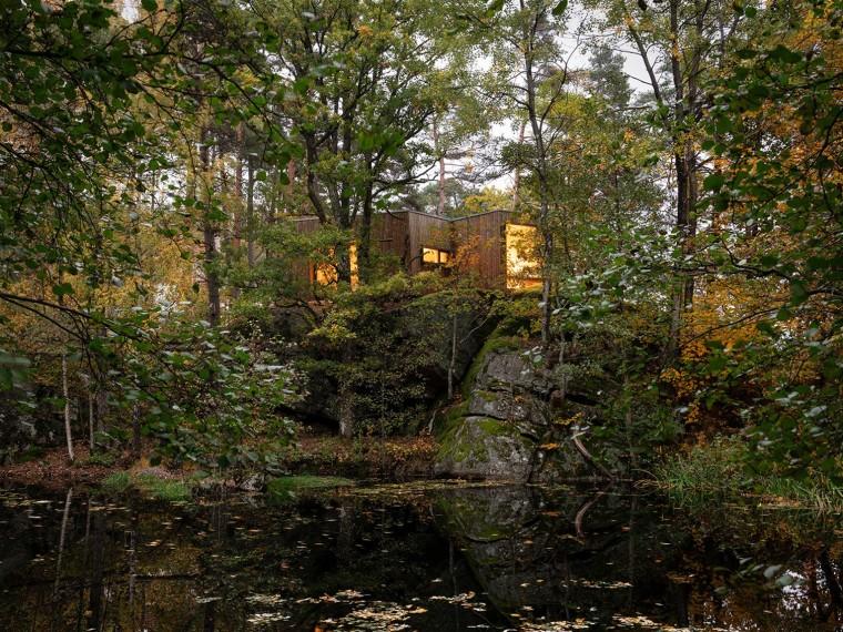挪威户外疗养小木屋