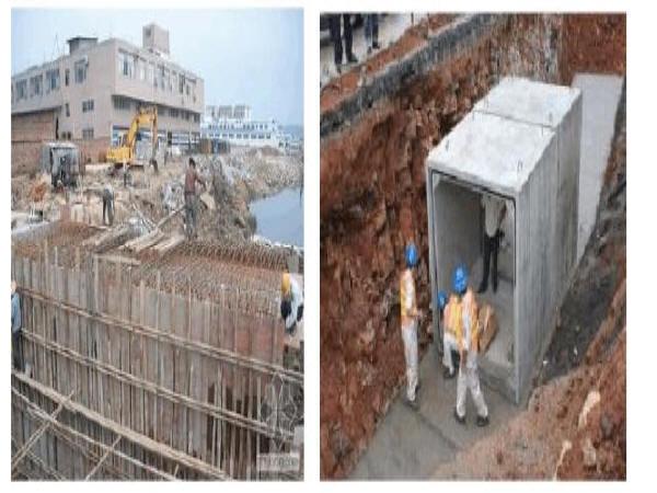 """天津市政管道基坑资料下载-""""装配式建筑""""建设地下市政综合管廊优点"""
