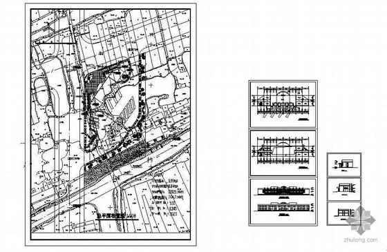某公交车站方案图-4