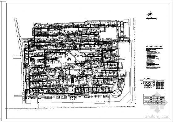 北京市某小区热源及室外热力管线工程设计