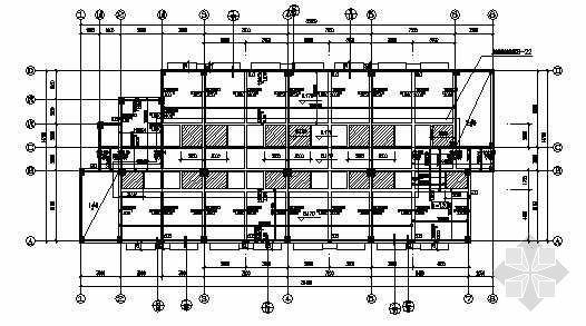 某框架宿舍办公综合楼结构施工图纸