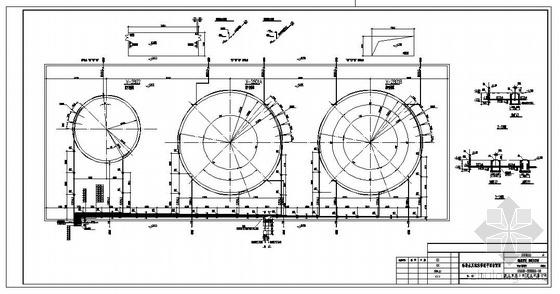 某化工厂甲醇罐区泡沫消防设计图