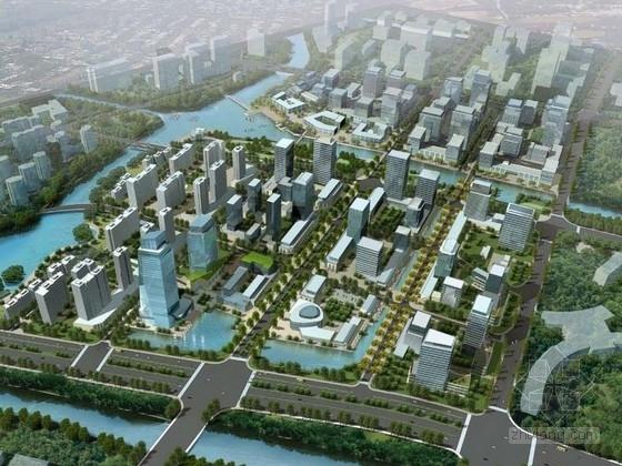 [宁波]现代风格办公区规划及单体方案文本