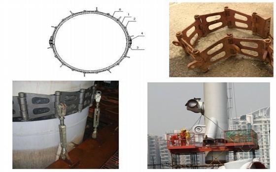 [广州]超高层电视塔钢结构施工技术、天线桅杆安装技术研究综合报告