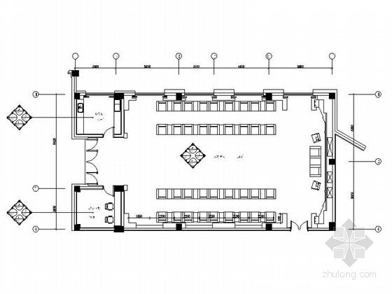 [广东]五星级商务酒店典雅接见厅装修施工图(含效果)