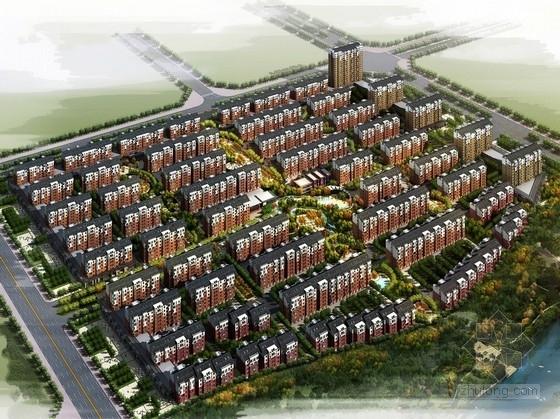 [吉林]欧式风格高层住宅区规划设计方案文本(知名设计院)