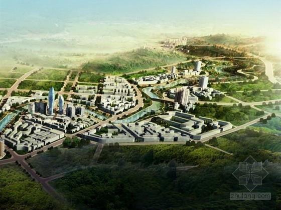[四川]综合多地块滨河城市沿线景观规划设计方案