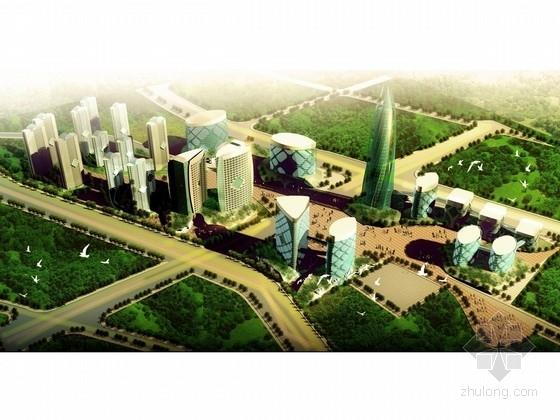 [云南]现代化高科技综合性CBD商业区规划设计方案文本(甲级设计院)