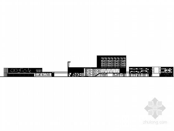[成都]某城市花园低层商业街建筑方案图