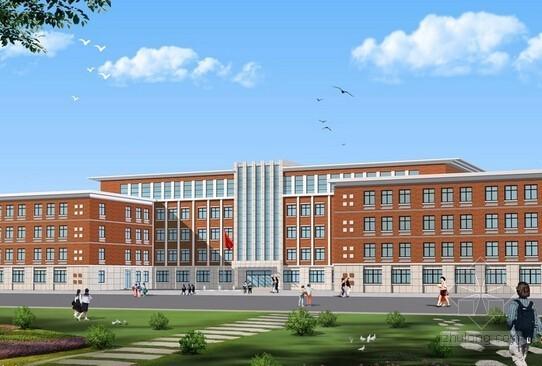 [山东]新建小学建筑安装工程预算书(含施工图纸)