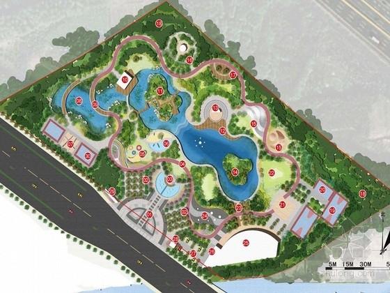 [苏州]生态水系体育公园景观规划设计方案