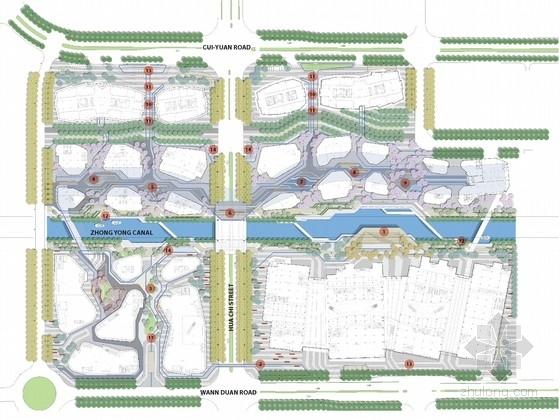 [苏州]当代工业园区广场景观规划设计方案