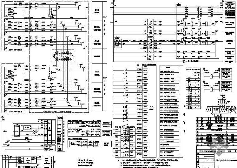 220kV母线电压互感器接线图