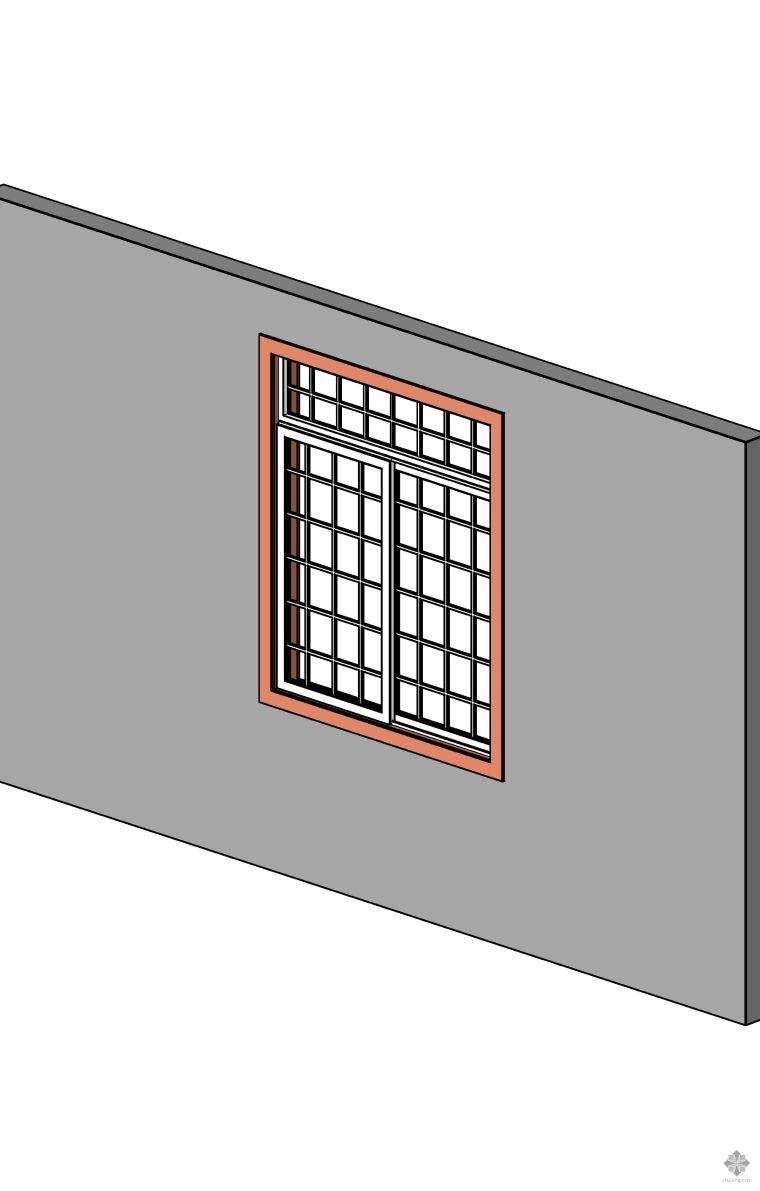 型材推拉窗(有装饰格、亮子)