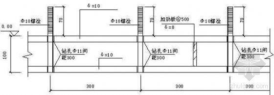 造纸厂纸浆磨机基础施工工法