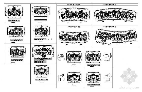 上海某大型小区规划总图-4